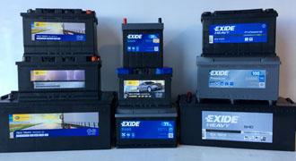 Batterie avviamentop